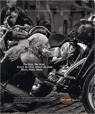 Harley Davidson Values >> Brand Personality Harley Davidson Daily Marketing Read